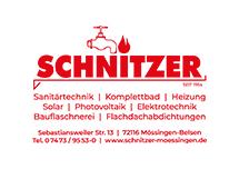 Das Logo der Schnitzer GmbH